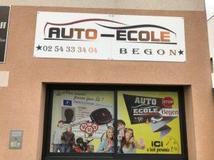 l'auto-école Bégon